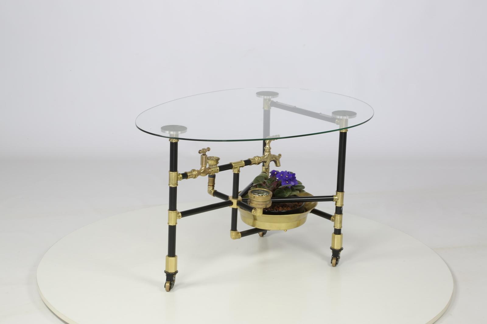 Водопроводно — тазиковый журнальный столик