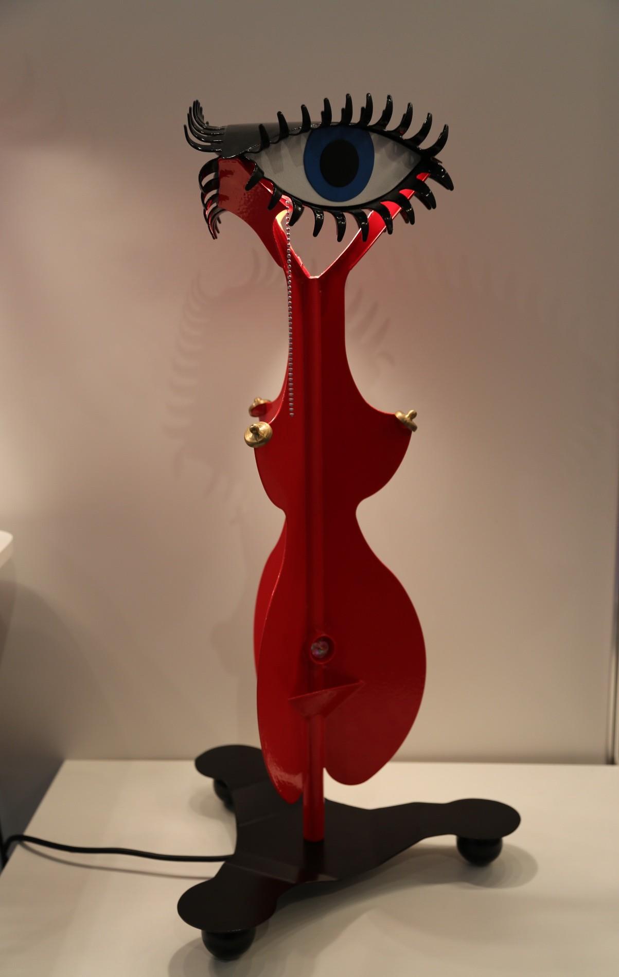 Настольная лампа LADY IN RED