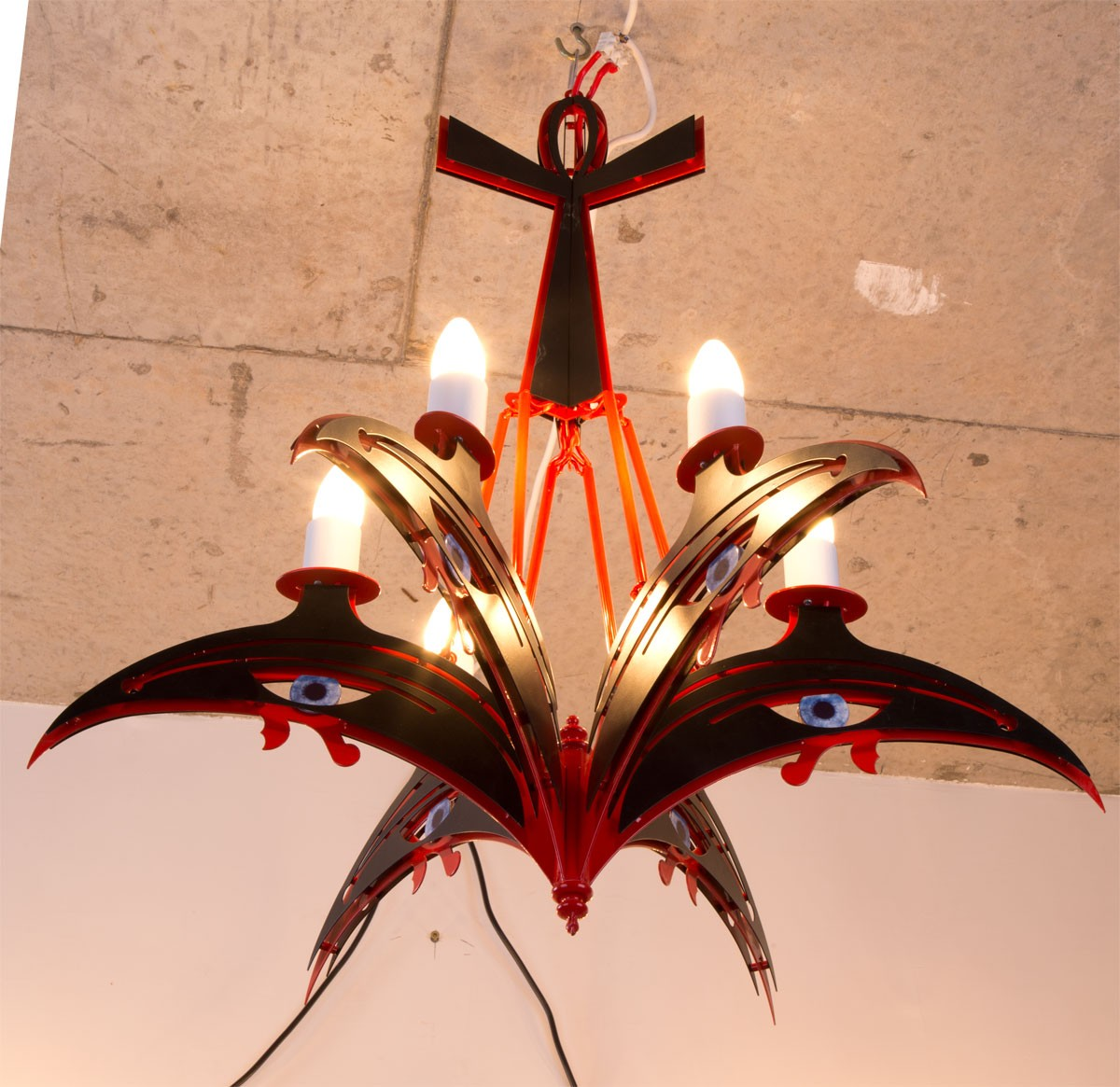HORUS chandelier and wall Lamp