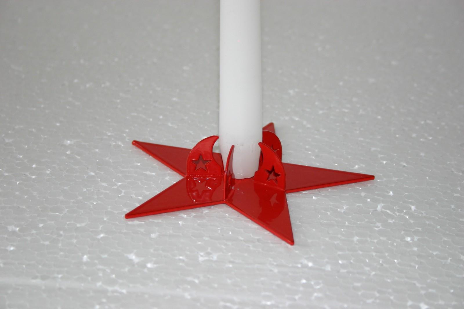 Подсвечник на 3 свечи ЗВЕЗДА